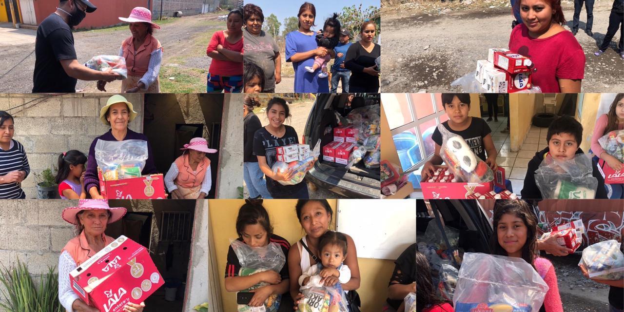 Se adquirieron 170 despensas para beneficiar a la comunidad indígena en Aculco y en San Idelfonso.