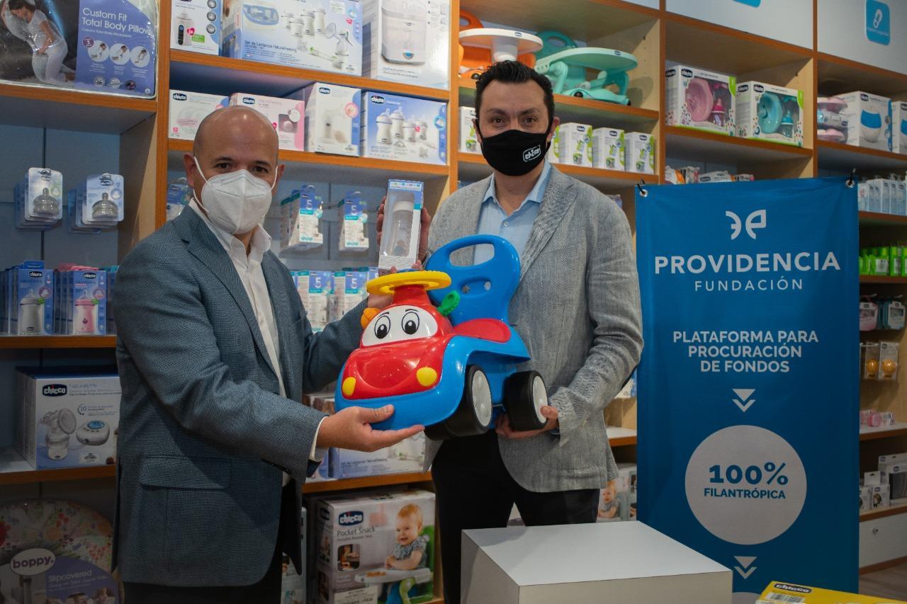 Comunicado de Prensa: Fundación Providencia y Chicco México unidos para llevar alegría navideña.