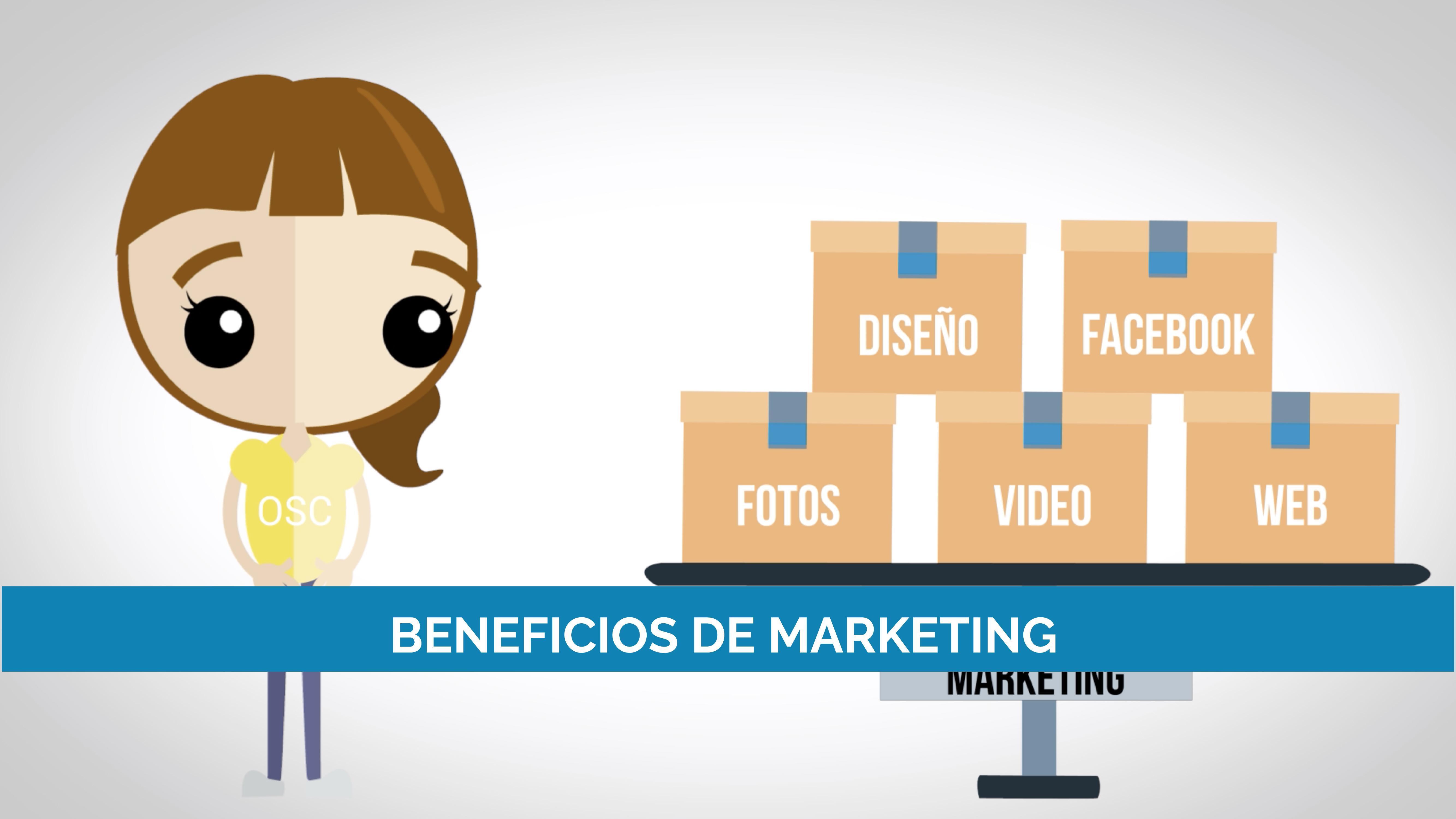 Beneficios del marketing