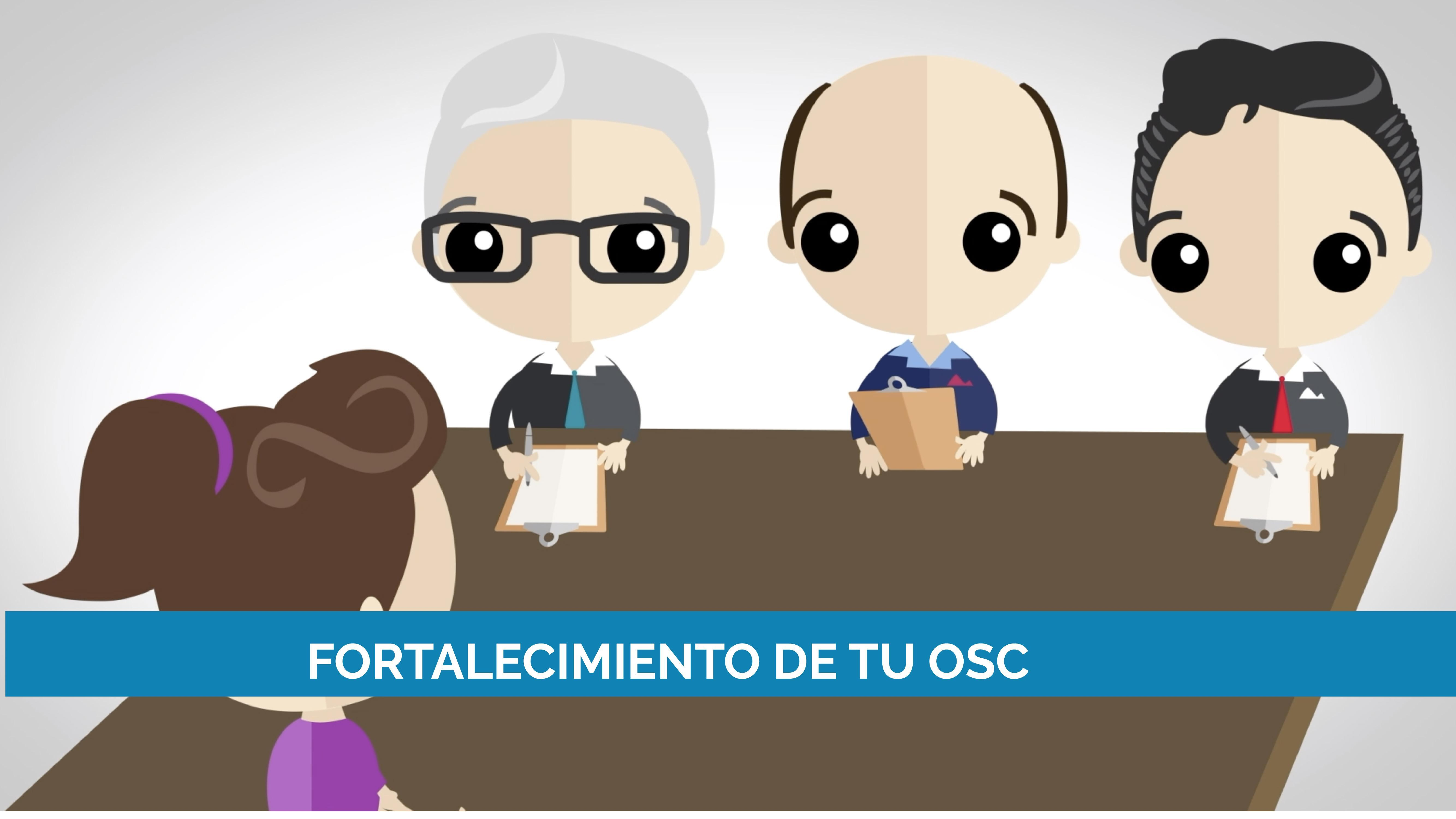 Fortalecimiento de tu OSC